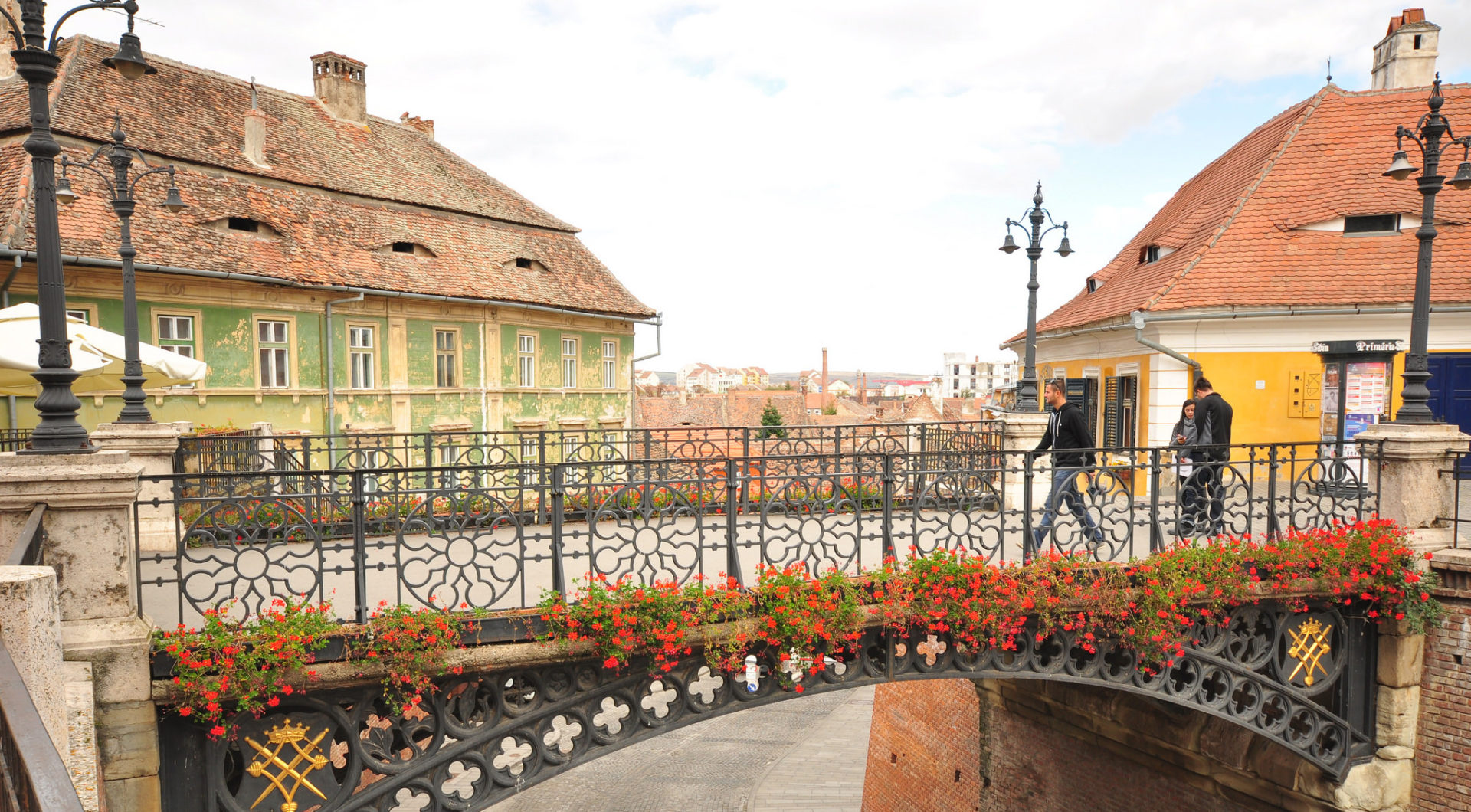 Sibiu Or Seebiu From Houses With Eyes To Political Protests