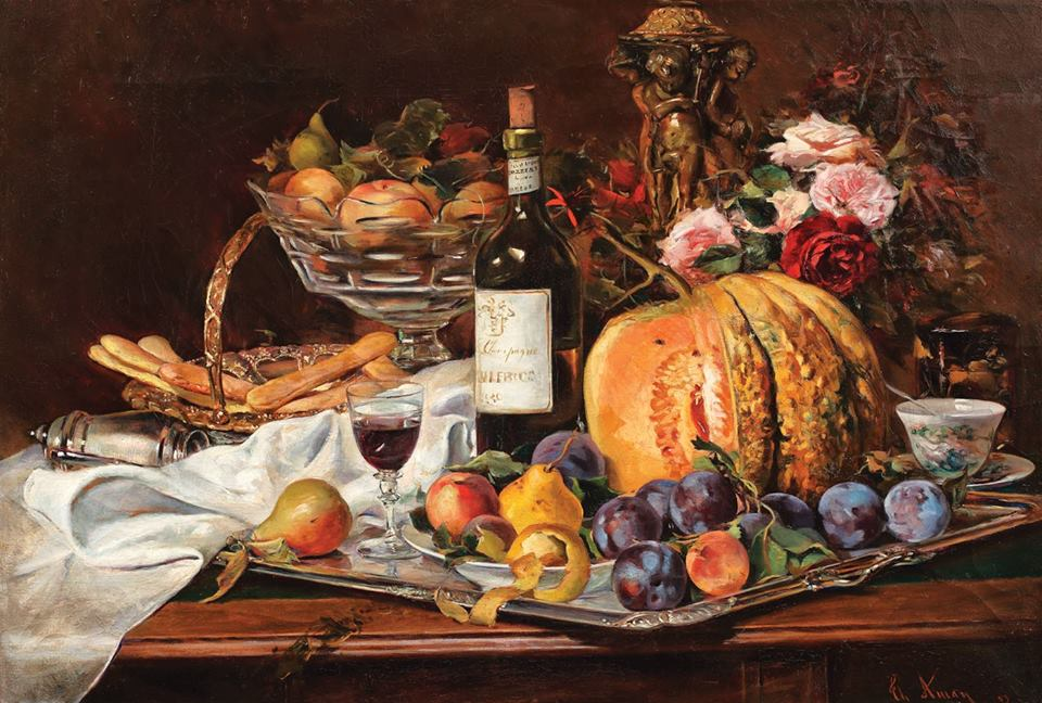 A Food Journey Through Romanian Painting
